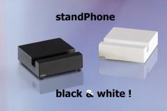 standphone black&white